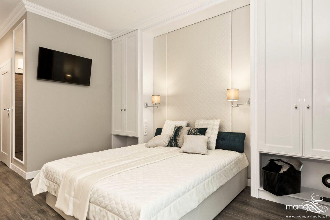 Mango Studio projektowanie wnętrz pod klucz apartament na wynajem w stylu klasycznym (2)