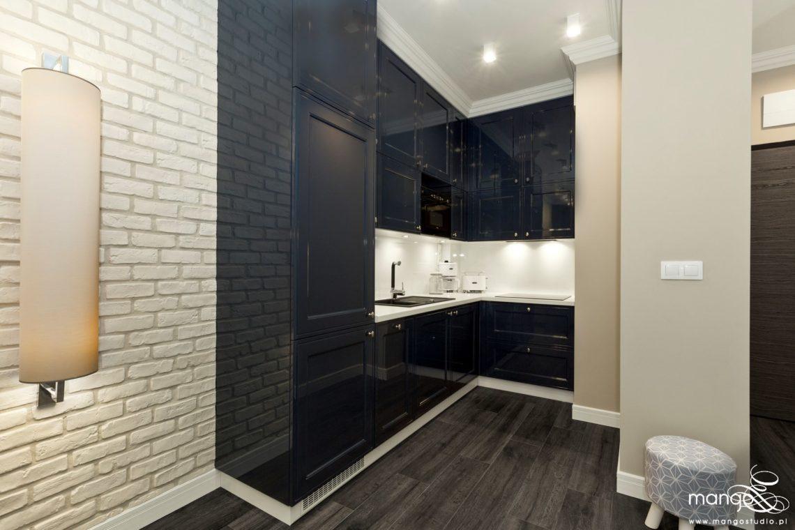 Mango Studio projektowanie wnętrz pod klucz apartament na wynajem w stylu klasycznym (3)