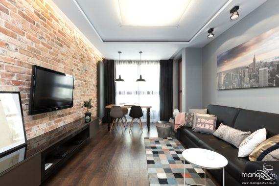 Bajeczny salon w stylu nowoczesnym