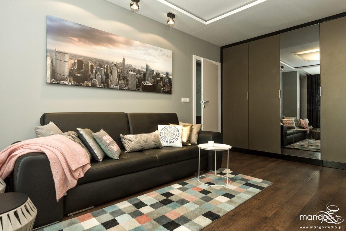 1 Mango Studio projektowanie wnętrz bajeczna salon w stylu nowoczesnym (3)