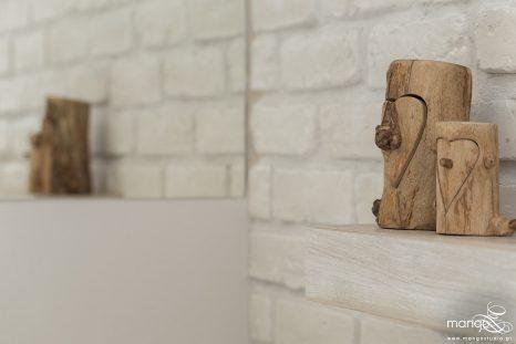 Mango Studio Projektowanie wnętrz pod klucz dom loftowy kolonialny nowoczesny biała łazienka z cegłą (26)