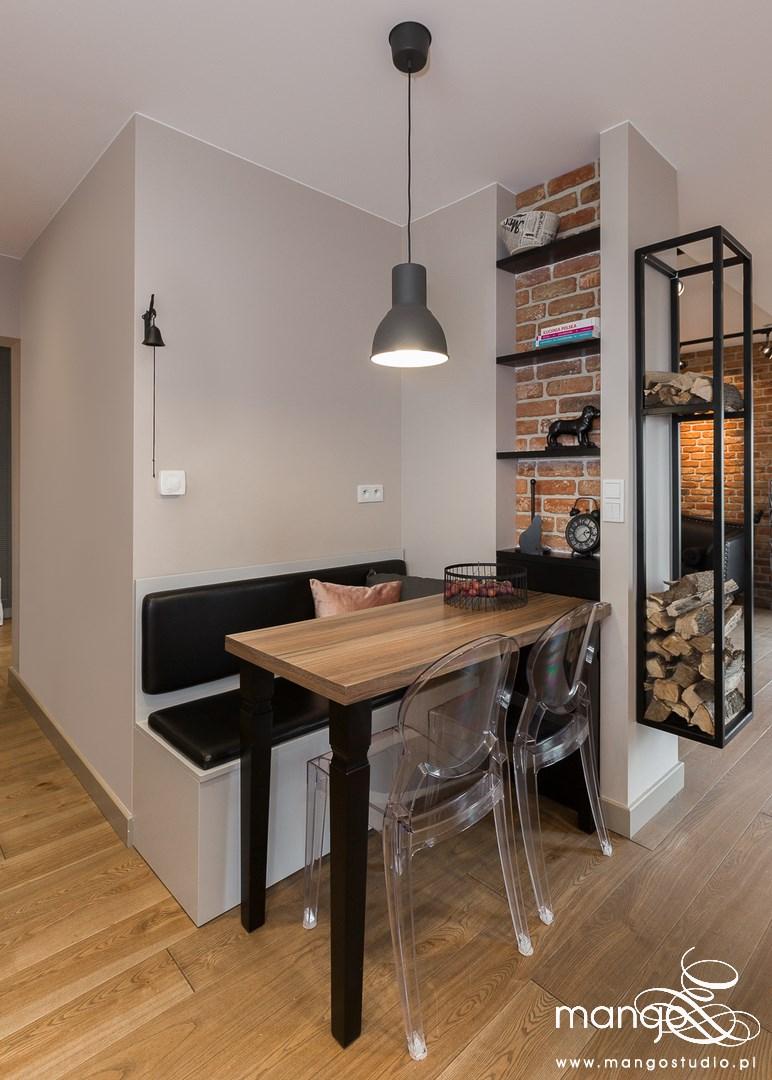 Mango Studio Projektowanie wnętrz pod klucz dom loftowy kolonialny nowoczesny jadalnia (23)