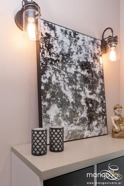 Mango Studio Projektowanie wnętrz pod klucz dom loftowy kolonialny nowoczesny komoda hol(25)