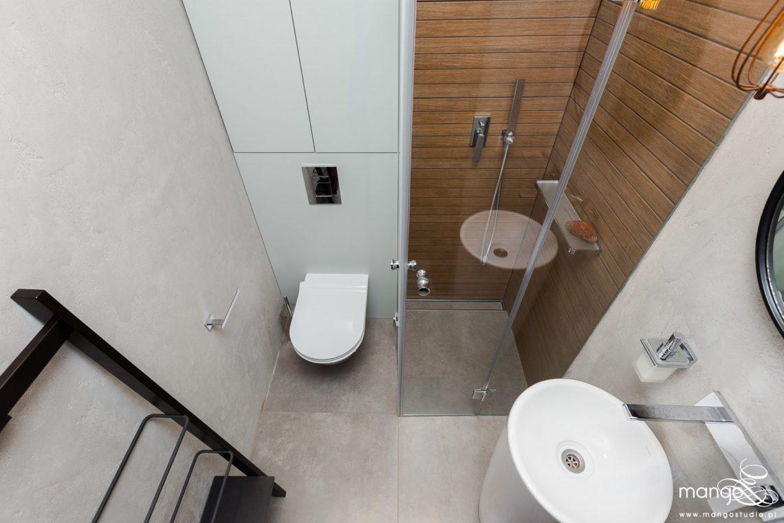 Mango Studio Projektowanie wnętrz pod klucz dom loftowy kolonialny nowoczesny loftowa toaleta (13)