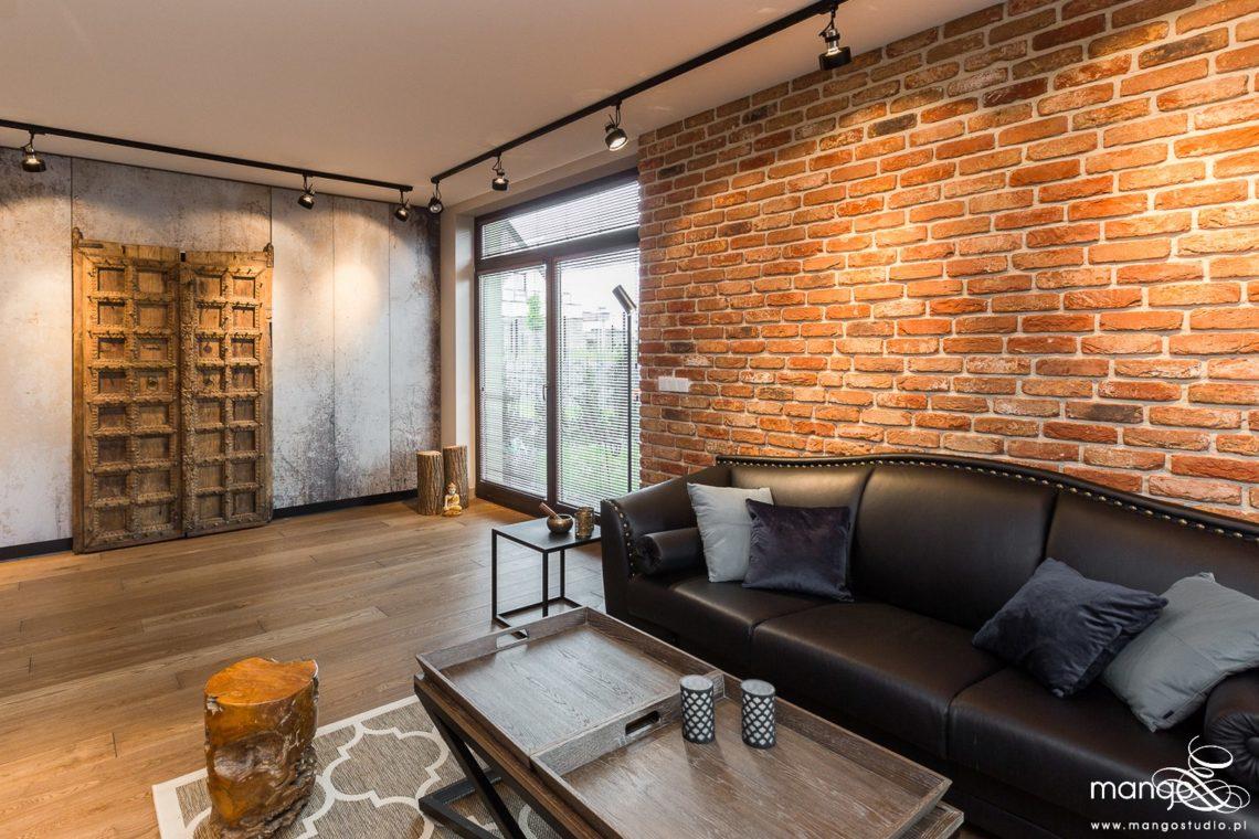 Mango Studio Projektowanie wnętrz pod klucz dom loftowy kolonialny nowoczesny salon (1)