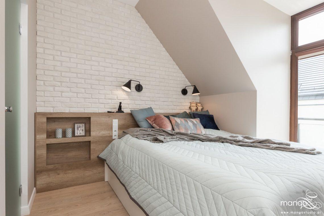 Mango Studio Projektowanie wnętrz pod klucz dom loftowy kolonialny nowoczesny sypialnia (1)