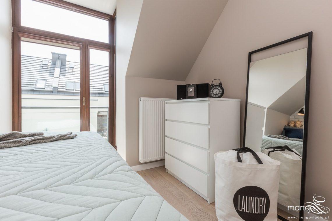 Mango Studio Projektowanie wnętrz pod klucz dom loftowy kolonialny nowoczesny sypialnia (3)