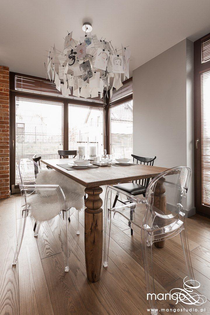 Mango Studio Projektowanie wnętrz pod klucz dom loftowy kolonialny nowoczesny jadalnia (13)