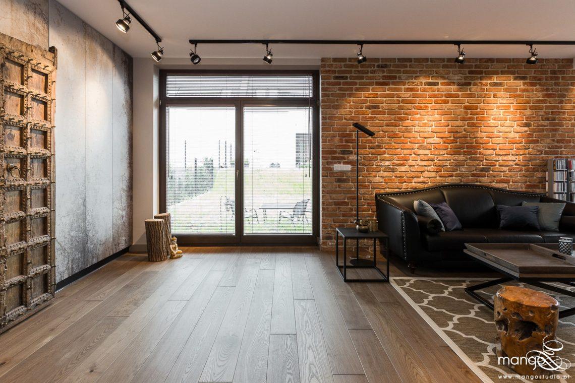 Mango Studio Projektowanie wnętrz pod klucz dom loftowy kolonialny nowoczesny salon (2)
