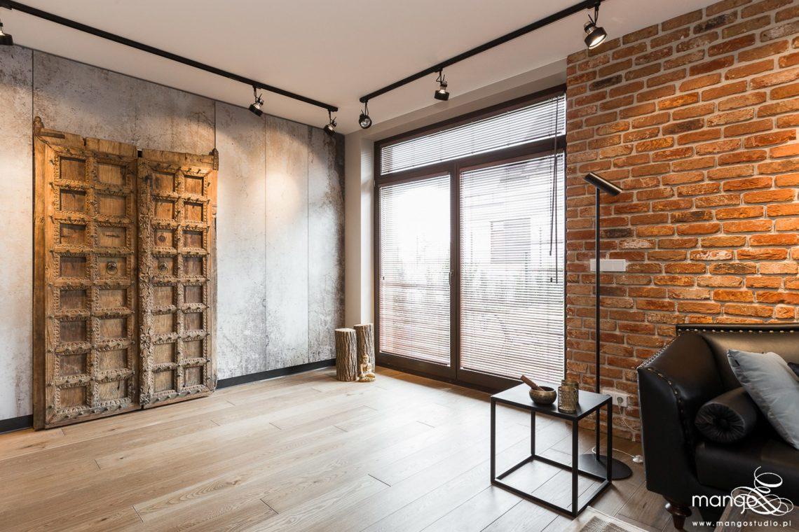 Mango Studio Projektowanie wnętrz pod klucz dom loftowy kolonialny nowoczesny salon (6)