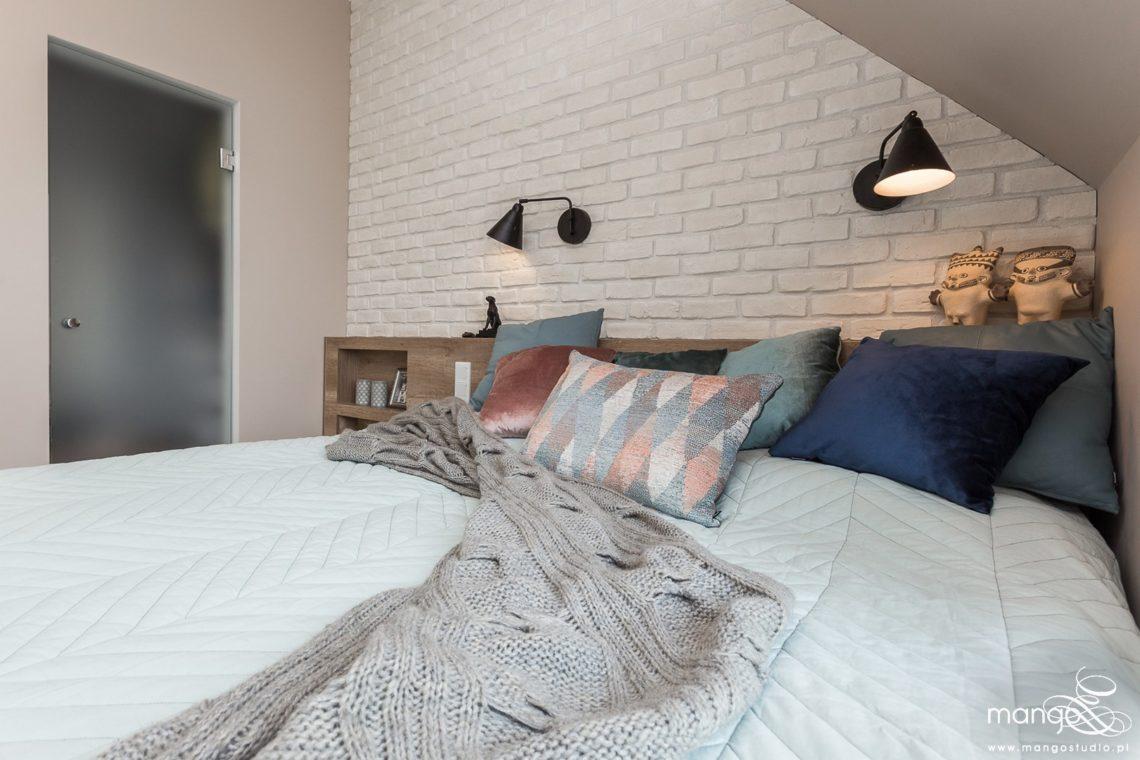 Mango Studio Projektowanie wnętrz pod klucz dom loftowy kolonialny nowoczesny sypialnia (2)