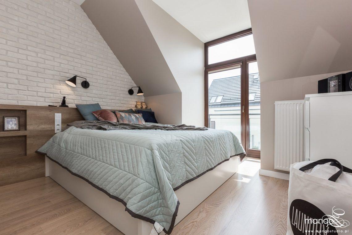 Mango Studio Projektowanie wnętrz pod klucz dom loftowy kolonialny nowoczesny sypialnia (4)