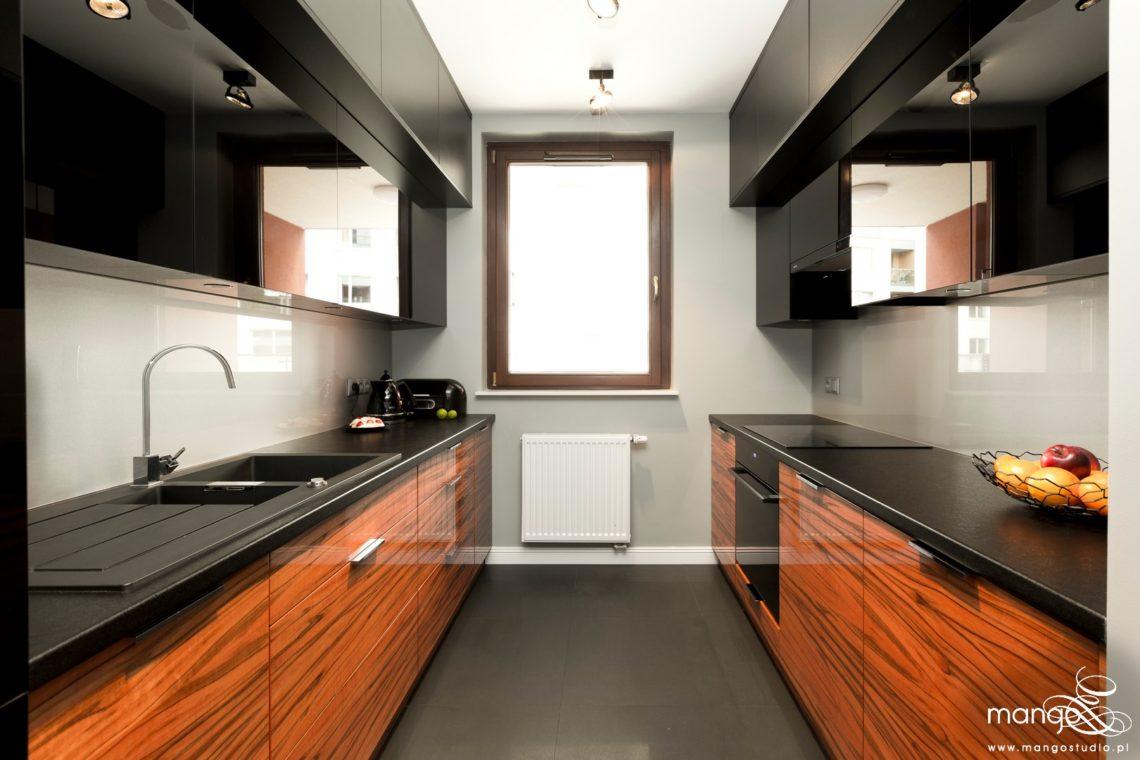 Mango Studio projektowanie wnętrz bajeczna kuchnia i hol w stylu nowoczesnym (1)