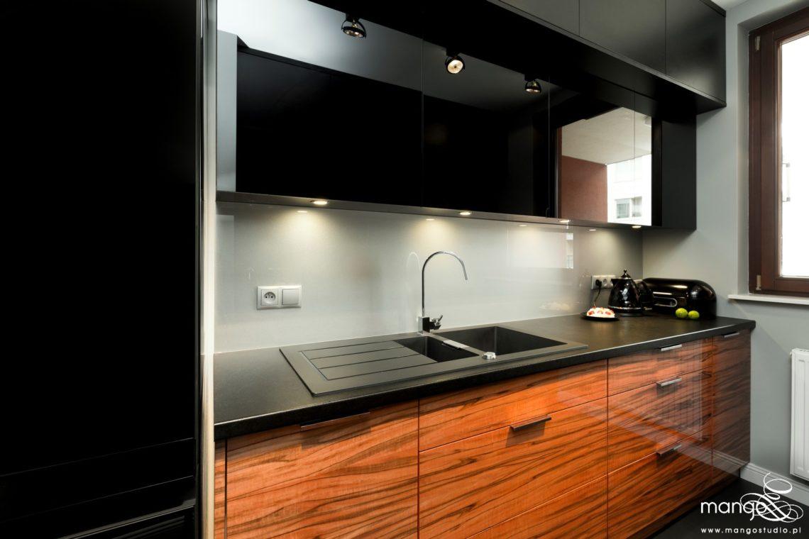 Mango Studio projektowanie wnętrz bajeczna kuchnia i hol w stylu nowoczesnym (2)