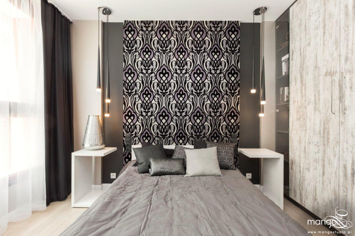 Mango Studio projektowanie wnętrz bajeczna sypialnia w stylu nowoczesnym (1)