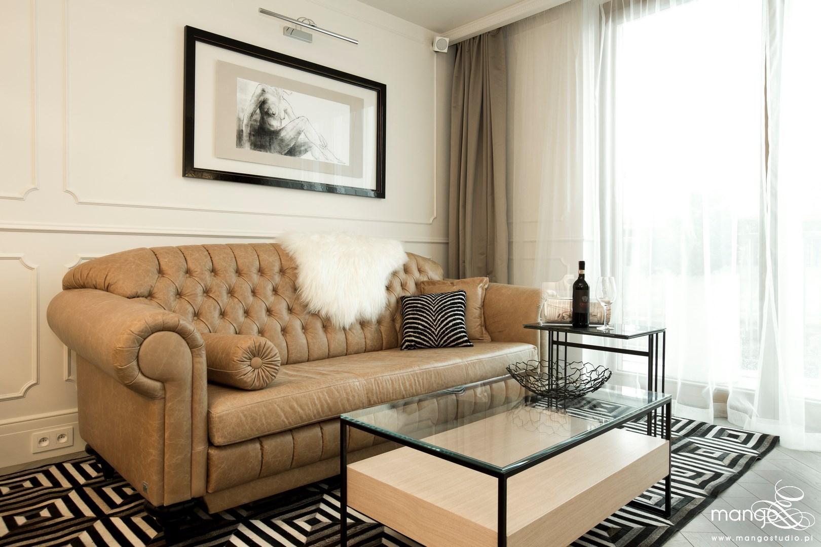 Mango Studio projektowanie wnętrz pod klucz Salon Klasyczny Apartament BiG fot Przemek Kuciński (11)