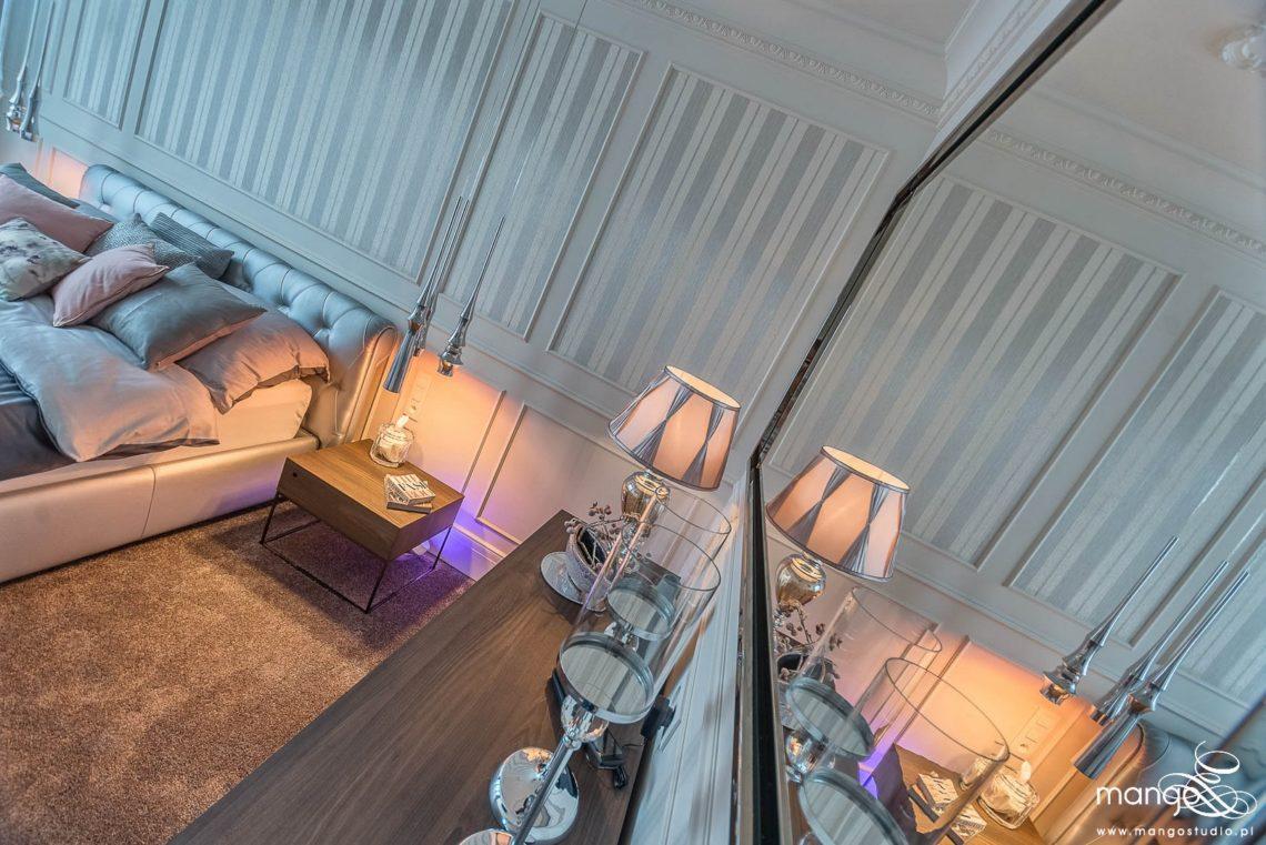 Mango Studio projektowanie wnętrz pod klucz Sypialnia Klasyczna Apartament BiG fot Marcin Sroka (6) (Logo)
